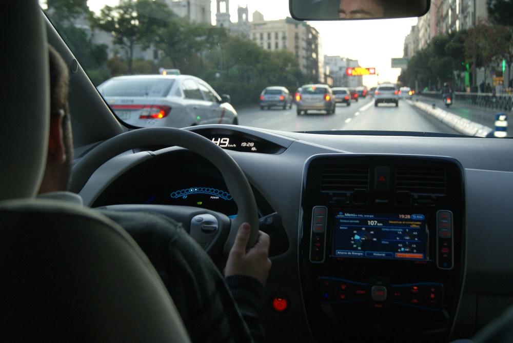Test de marcha del Nissan Leaf