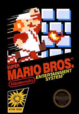 Carátula Super Mario Bros NES