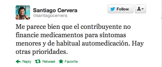 Santiago Cervera Twitt