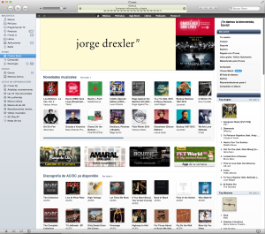 interfaz iTunes 10