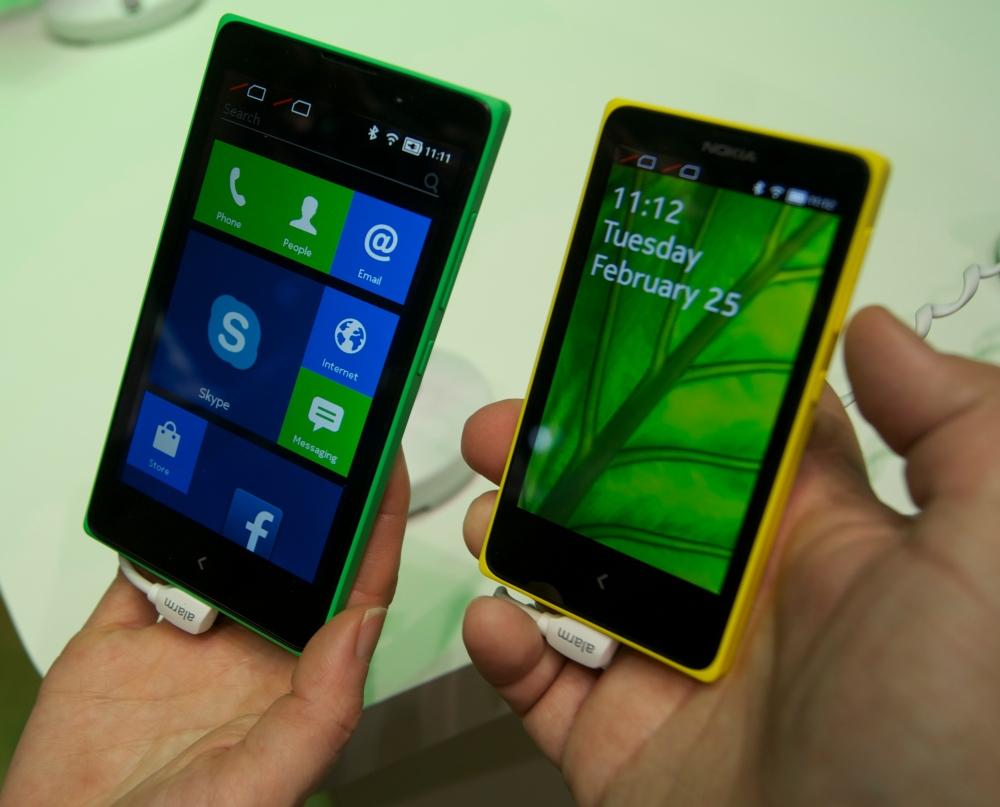 Nokia XL y X+