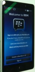 BBM en Nokia X
