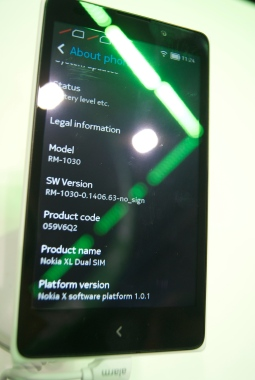 About SO Nokia XL
