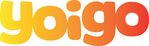 Logo Yoigo Naranja