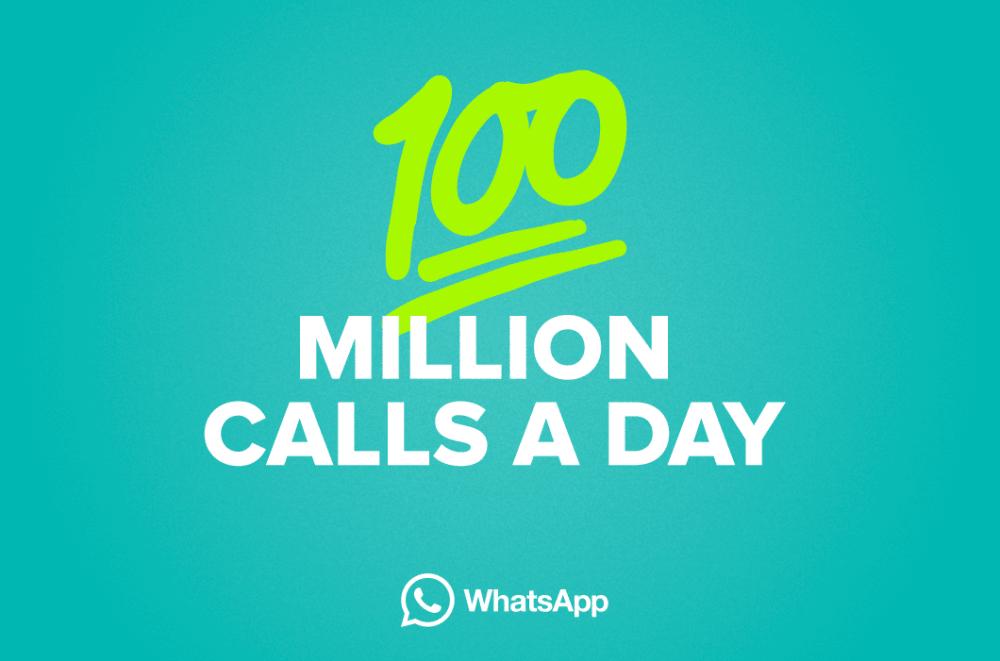 100 millones de llamadas por día